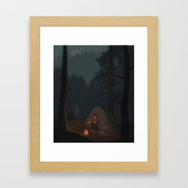 Fireflies (The Last of Us) Framed Art Print
