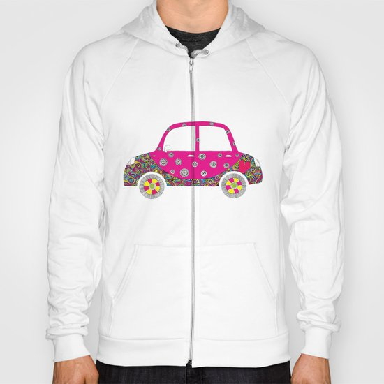 Colorful car Hoody