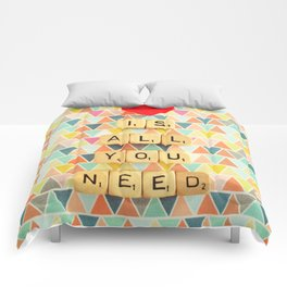 Love is All You Need Comforters