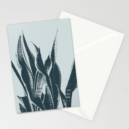 Long Leaves of The Green Plant #decor #society6 #buyart Stationery Cards