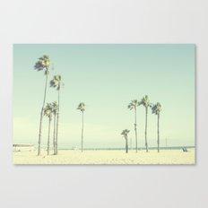 Venice Beach Palms  Canvas Print