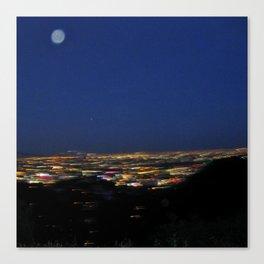 Runyon Moon Canvas Print