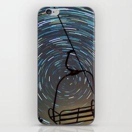Chair Lift Spiral iPhone Skin
