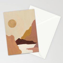 Canyon Mountainscape Stationery Cards