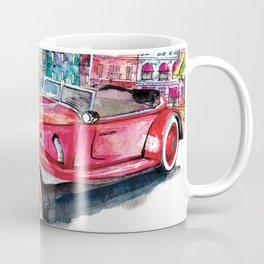 Red antique car Coffee Mug
