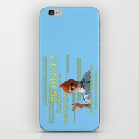 steve zissou iPhone & iPod Skins featuring Steve Zissou by Alessandro Paradossi