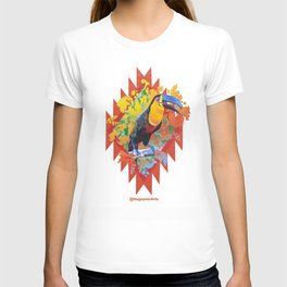 Eco Mural Project 10: Channel-Billed Toucan T-shirt