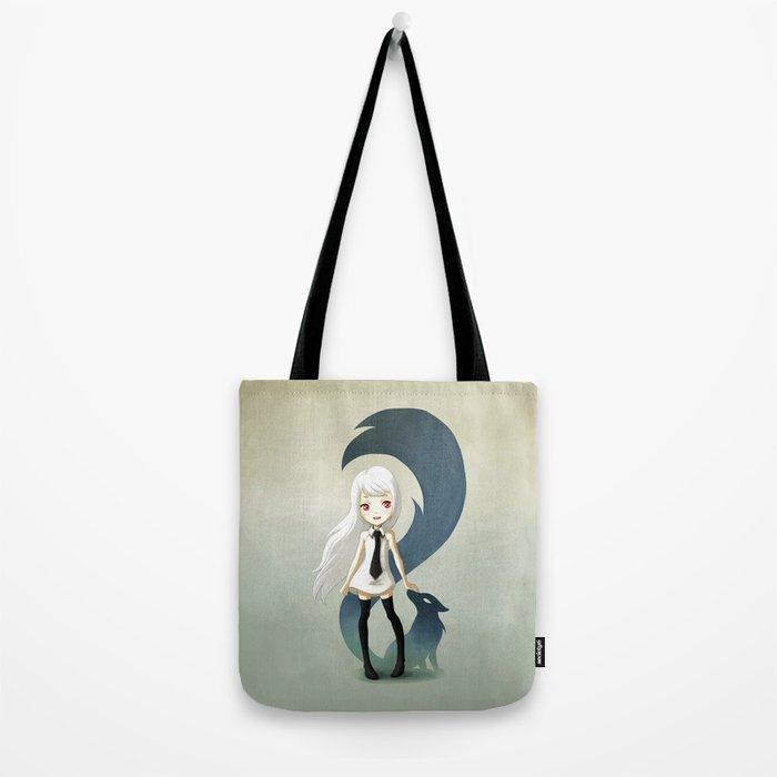 Fox Daemon Tote Bag