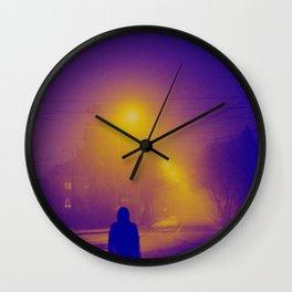 nocturnal lullabies Wall Clock