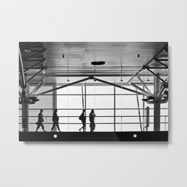 Footbridge Metal Print