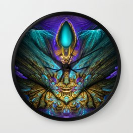 Transcendental - Fractal Manipulation Wall Clock