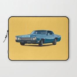 Vintage car solid colour Laptop Sleeve