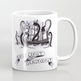 East Coast Beast Coast Coffee Mug