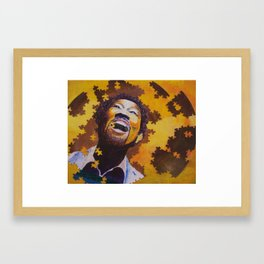 80's---Dancing to the Latest Framed Art Print