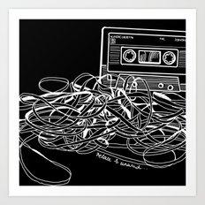 Noir Relax & Unwind Art Print