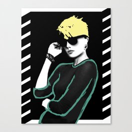 Do you like my glasses? Canvas Print