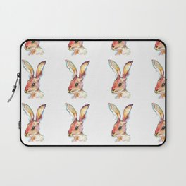 The hare on the run from alice Laptop Sleeve