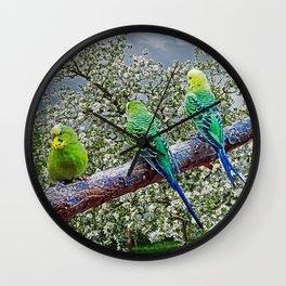 Birdies Wall Clock