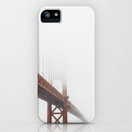 Foggy Gold iPhone Case