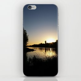 Tears into still waters too iPhone Skin