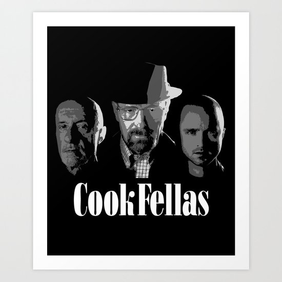 Cook Fellas Art Print