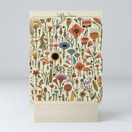 Wildflower Chart Mini Art Print