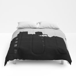 Chelsea Architecture III Comforters