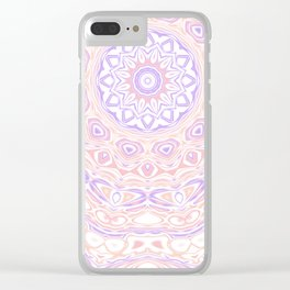 Funky mandala Clear iPhone Case