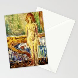 The Death of Marat II - Digital Remastered Edition Stationery Cards