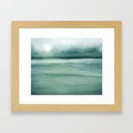 Soft Evening Blues Framed Art Print