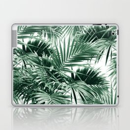 Tropical Palm Leaf Jungle #1 #tropical #decor #art #society6 Laptop & iPad Skin
