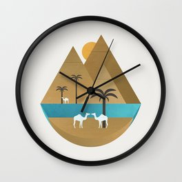 The Nile Wall Clock