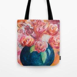 La vie en fleurs Tote Bag