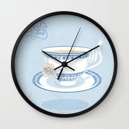 Royal Tea Wall Clock
