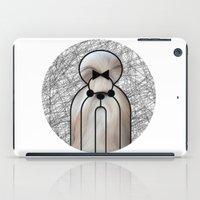 shih tzu iPad Cases featuring Shin-Tzu Dog by lllg