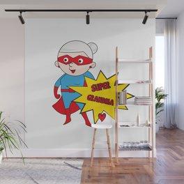 Super Grandma 1 Wall Mural