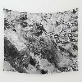 White: Paint Wall Tapestry