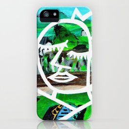 King of Seagulls - Impressionist Abstract painting iPhone Case
