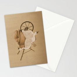 The Geese and the Pumpkin Stationery Cards