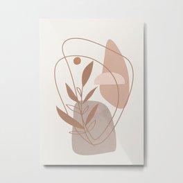 Abstract Shapes No.22 Metal Print
