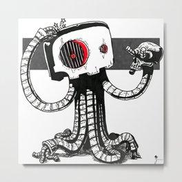 Murderbot v2.0 Metal Print
