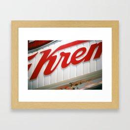 krispy kreme Framed Art Print