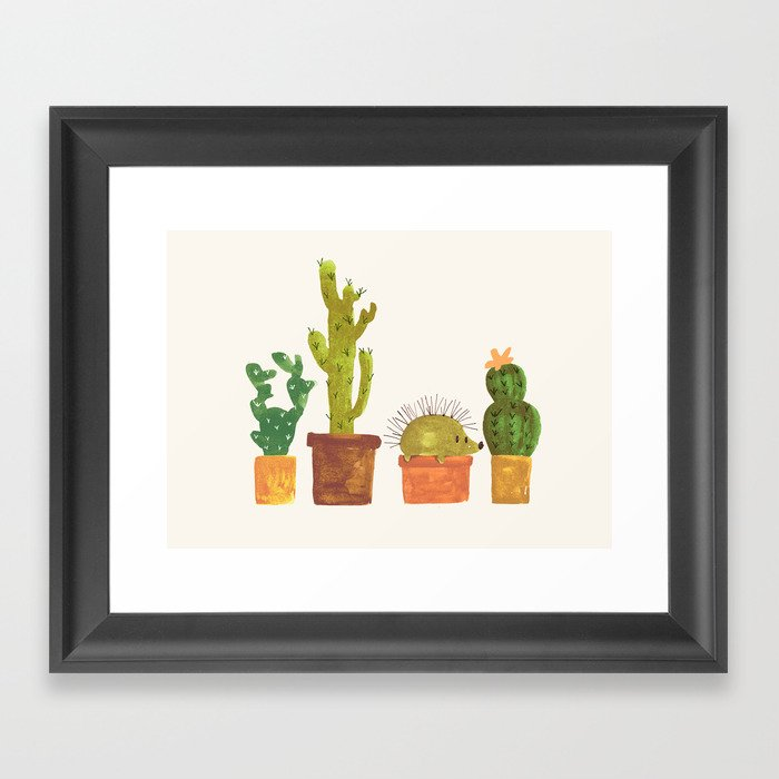 Hedgehog and Cactus incognito