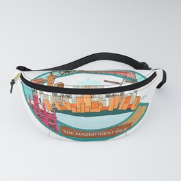 The Jewel of the Midwest Fanny Pack