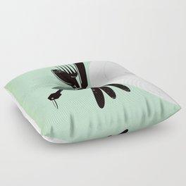 "Glue Network Print Series ""Hunger"" Floor Pillow"
