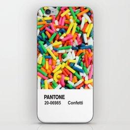 PANTONE - Confetti iPhone Skin