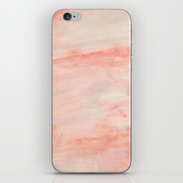 Dramaqueen - Pink Marble Poster iPhone Skin