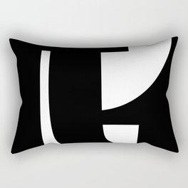 Hidden Letters. Baskerville T Rectangular Pillow