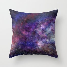 Space Galaxy Universe Throw Pillow