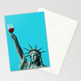 Liberty of drinking Stationery Cards